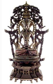 Bodhi Tree Buddha Under the Wisdom Tree