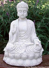 Protection Buddha Pose Statue