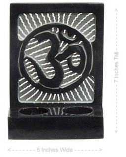 Om Symbol Tea Light Holder