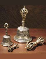 Bell and Dorje : Buddhist Meditation Bell