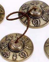 Tingsha Bells in Brass
