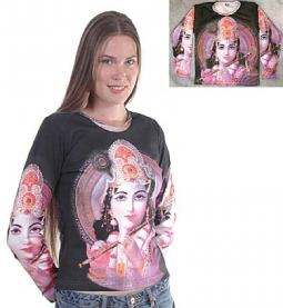 Krishna Tee Shirt, Black Color