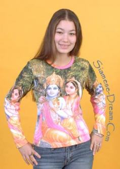 Krishna and Radha Tee Shirt