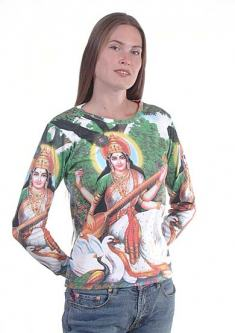 Saraswati Shirt : The goddess Saraswati Tee
