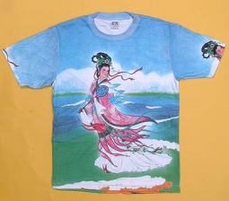Kuan Yin Shirt, Blue Color