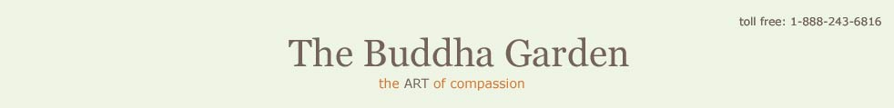 header logo for the Buddha garden