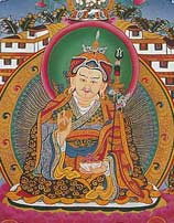 Padmasambhava Greeting Card