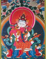 Vajrasattva in Union Tibetan Greeting Card