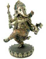 Dancing Ganesh Statue in Resin