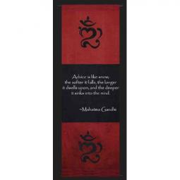 Mahatma Gandhi Quotes on Wall Scrolls