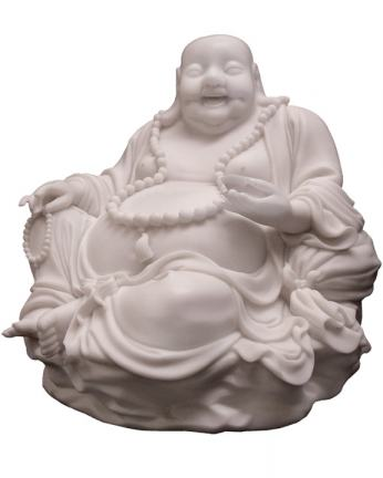 Big Buddha Statue in Resin, 12 Inches