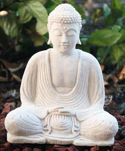 Information stone buddha statues for sale for White garden rocks for sale