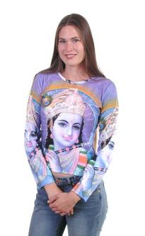 Krishna T-shirt, Light Purple color