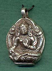 Clothing and jewelry the buddha garden tara pendant in silver mozeypictures Images