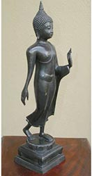 Sukhothai Walking Buddha / Returning From Heaven