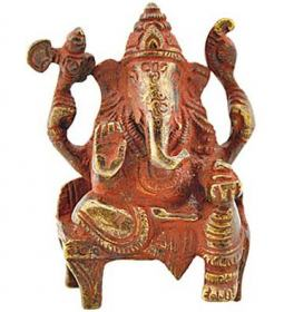 Ganesh Statue with Antique Finish